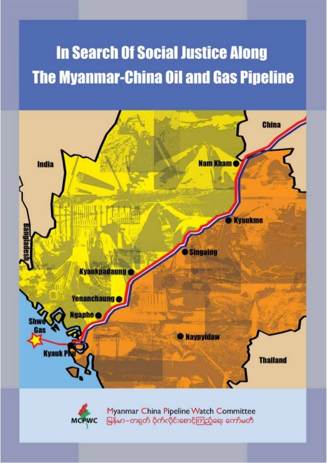 MYANMAR -CHINA OIL AND GAS PIPE LINE COLLECTION