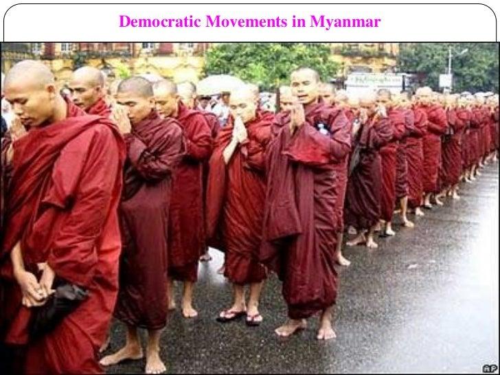 Democratic Movements in Myanmar