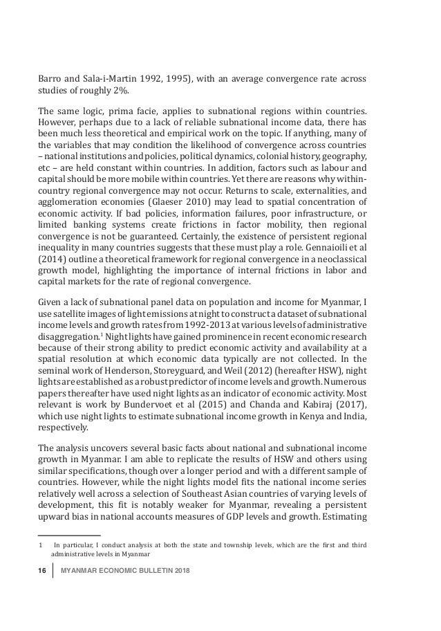 MYANMAR DEVELOPMENT INSTITUTE (MDI)