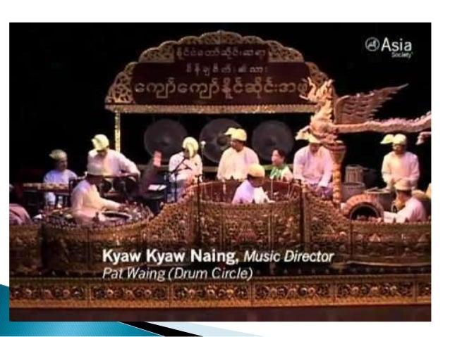 Myanmar ensemble Slide 3