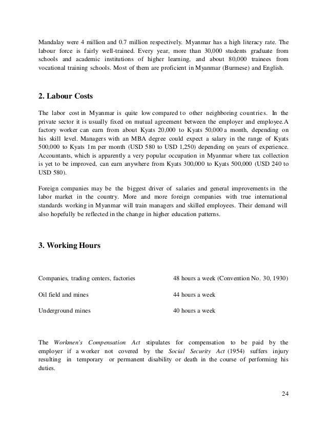 Worksheet Math 4 Grade Guide In Myanmar myanmar investment guide book 1 eng 24