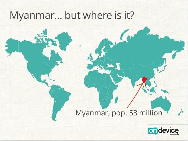 Myanmar But Where Is It - Where is myanmar
