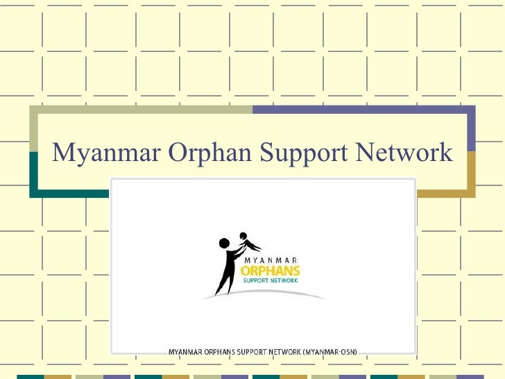 Myanmar Orphan Support Network