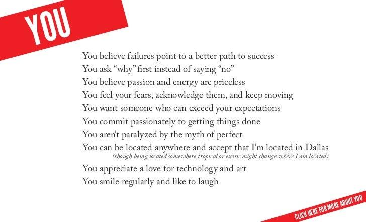 Y Ou You Believe Failures