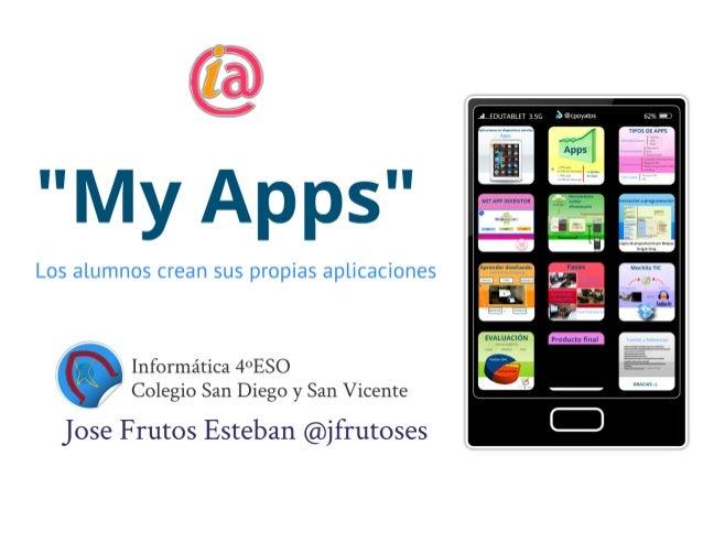 Los alumnos crean Apps