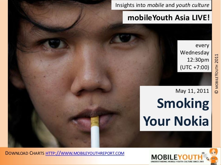 Insights into mobile and youth culture<br />mobileYouthAsia LIVE!<br />every<br />Wednesday<br />12:30pm<br />(UTC +7:00)<...