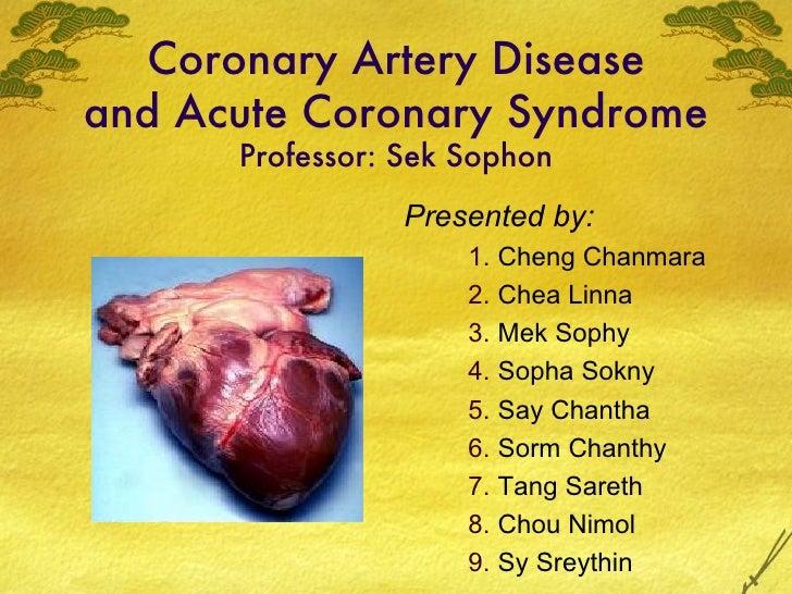 coronary artery disease and acute coronary syndrome
