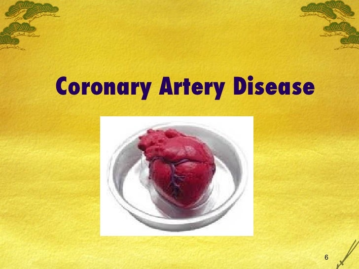 coronary artery disease and acute coronary syndrome Coronary artery bypass grafting  coronary heart disease and myocardial infarction in young men and  nitrates in the management of acute coronary syndrome view.