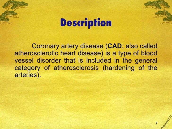 the clinical description of coronary artery disease - biomedical research (2013) volume 24, issue 1 clinical analysis of risk factors and lesion characteristics of coronary artery in patients with coronary heart disease.