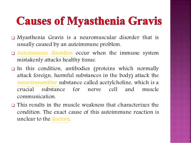 myasthenia gravis its diagonosis and treatment essay Facts about myasthenia gravis myasthenia gravis (mg), lambert-eaton myasthenic most people with the disease are able to manage their symptoms and lead active.
