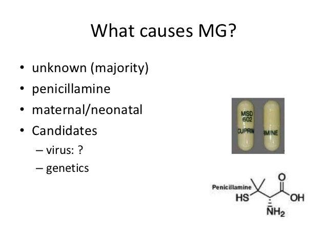 Myasthenia Gravis Causes