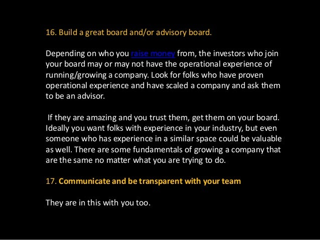 By making sure everyone on your team is aware of everything going on in the company (both the good and bad), you are build...