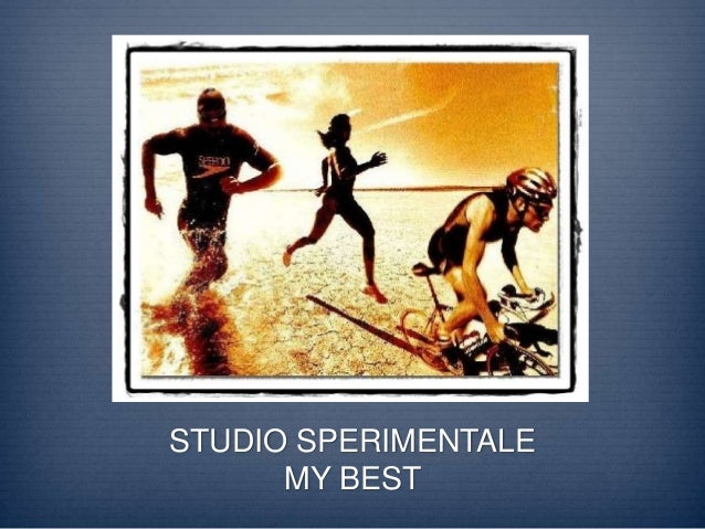 STUDIO SPERIMENTALE MY BEST
