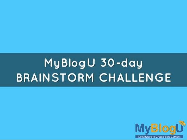 MgBlogU 30~ddg BRAINSTOREVI CHALLENGE  lvl .
