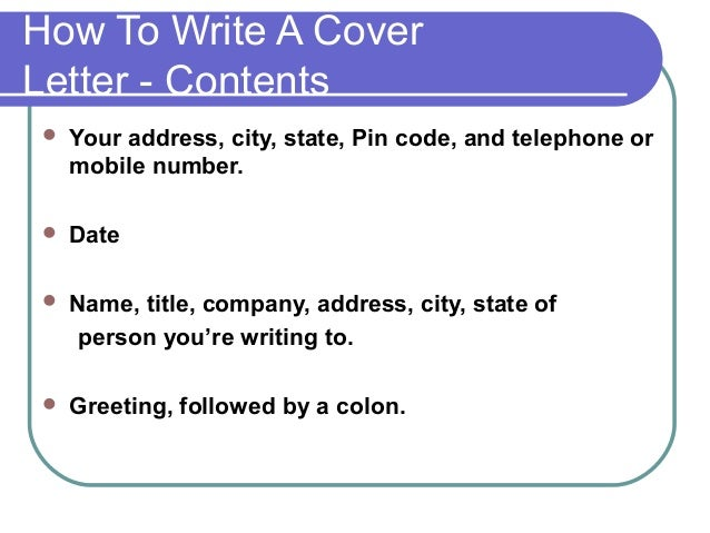 How to Write an Address on a Resume | Career Trend