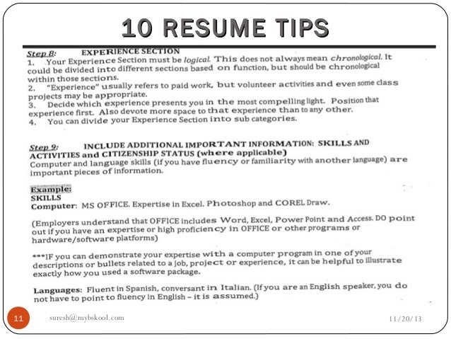 important resume tips kordur moorddiner co