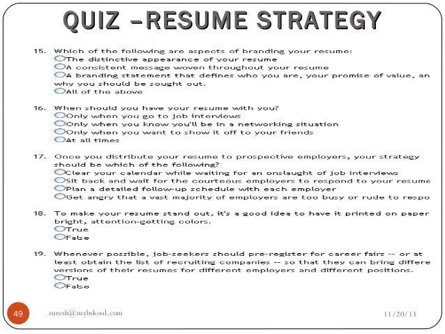 resume profiles resume