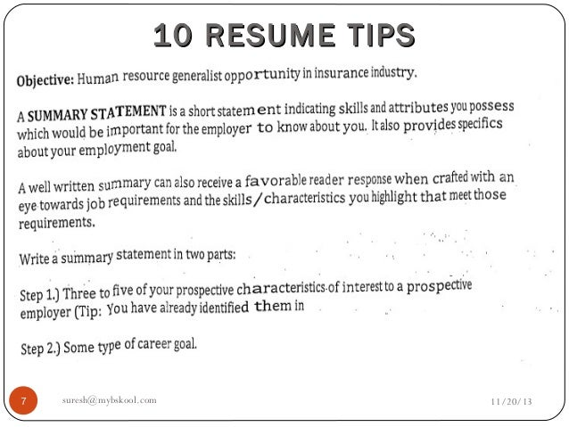 important parts of a resume example resume