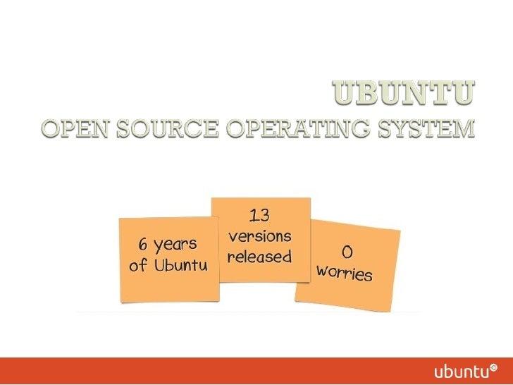Ubuntu-Overview