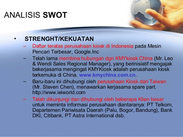citibank swot Mis 760 – it strategy case study: citibank's e-business strategy for global  corporate  prepare a swot analysis to evaluate citibank's e-business strategy.