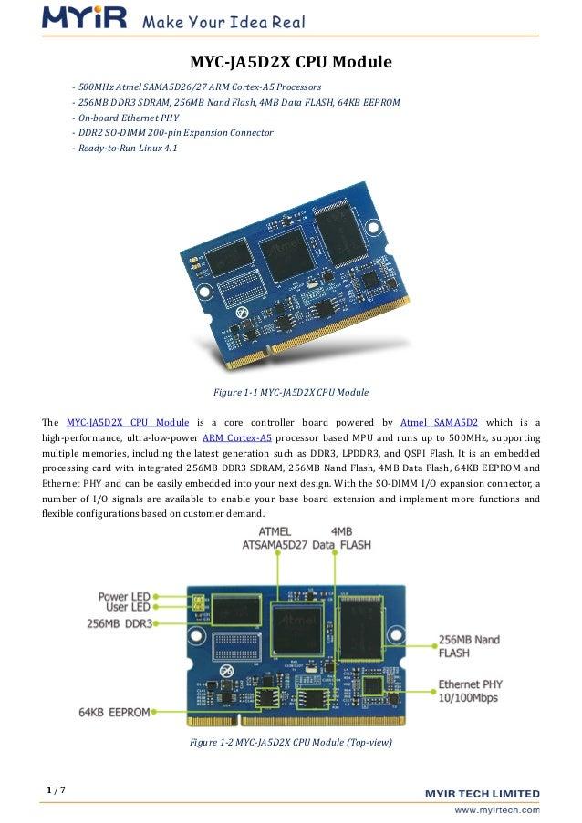 MYIR released an cost-effective Linux-ready Atmel SMART