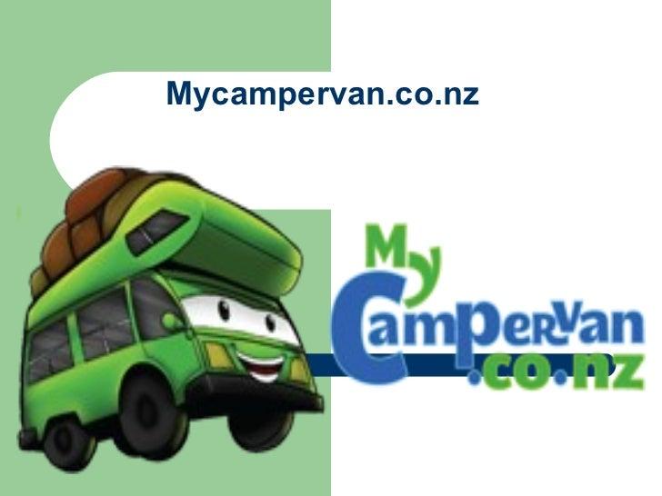 Mycampervan.co.nz