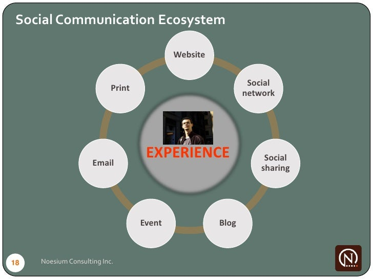 Social Communication Ecosystem                                             Website                                        ...