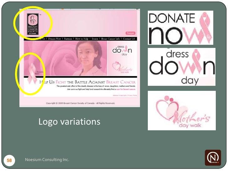 Logo variations   58   Noesium Consulting Inc.