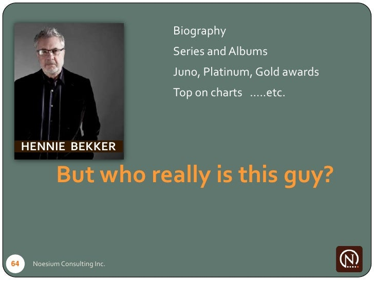 Biography                                 Series and Albums                                 Juno, Platinum, Gold awards   ...