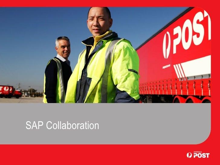 SAP Collaboration