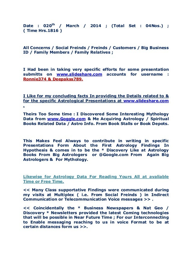 Date : 020th / March / 2014 ; (Total Set : 04Nos.) ; ( Time Hrs.1816 ) All Concerns / Social Freinds / Freinds / Customers...