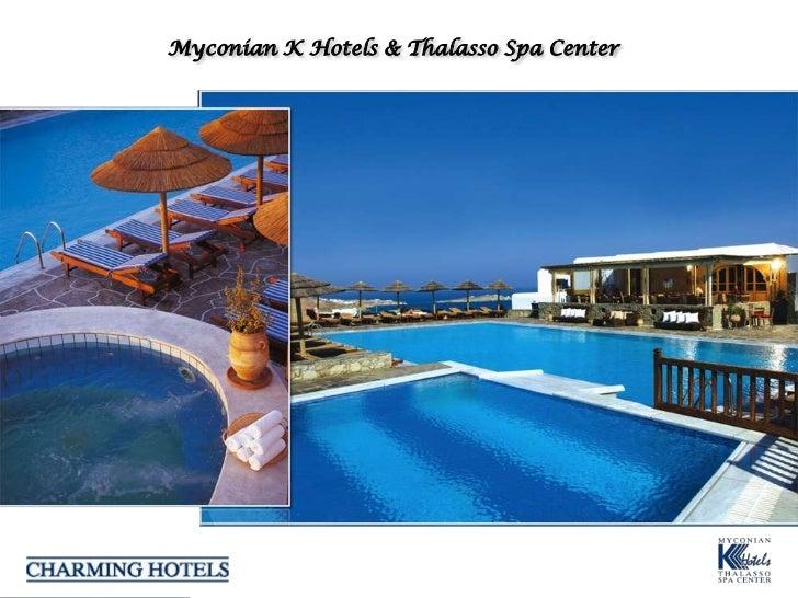 Myconian K Hotels & Thalasso Spa Center