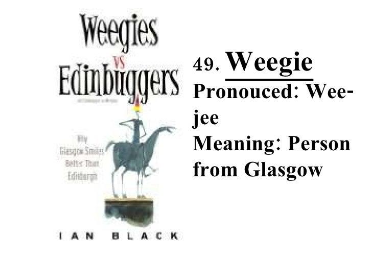 50 Weird Scottish Words