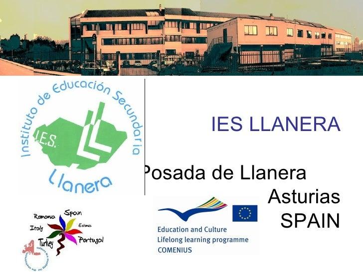 IES LLANERAPosada de Llanera             Asturias              SPAIN