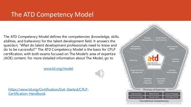 cplp certification atd competency