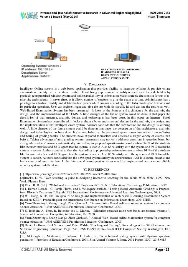 International Journal of Innovative Research in Advanced Engineering (IJIRAE) ISSN: 2349-2163 Volume 1 Issue 4 (May 2014) ...