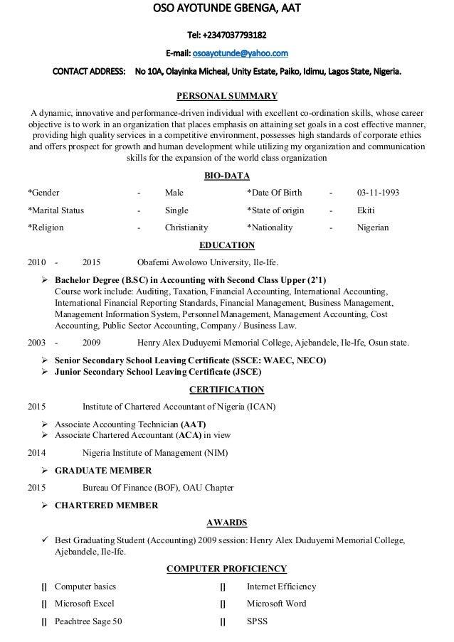 Exelent Aat Trainee Accountant Resume Inspiration - Administrative ...