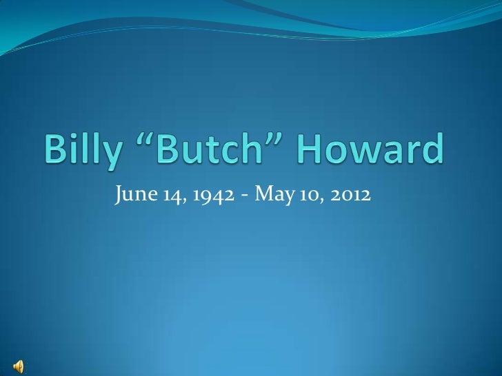 June 14, 1942 - May 10, 2012