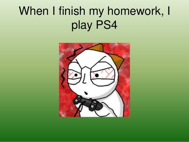 How do i finish all my homework