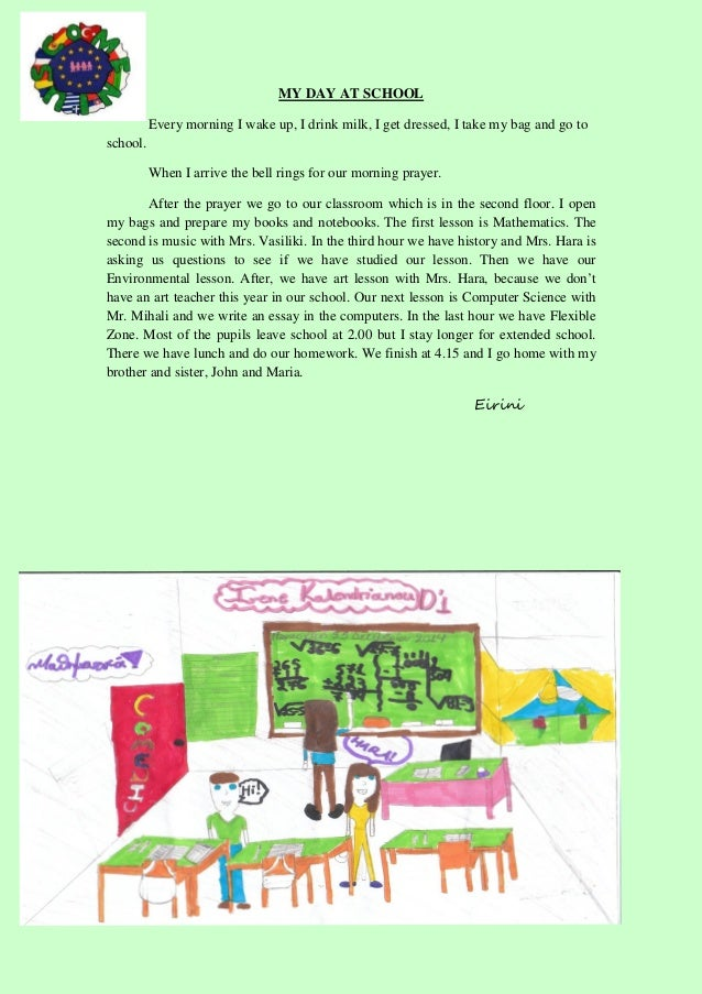 english essay my last day at school Report abuse home nonfiction travel & culture my first day of school can we have your mind map on your essay plz but l think you going to rock this world.