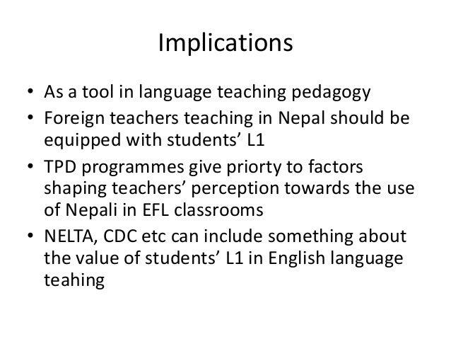 how to teach nepali language