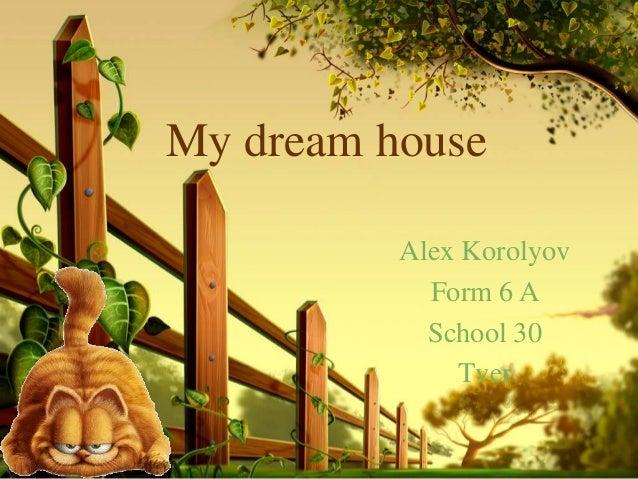 my dream essay example