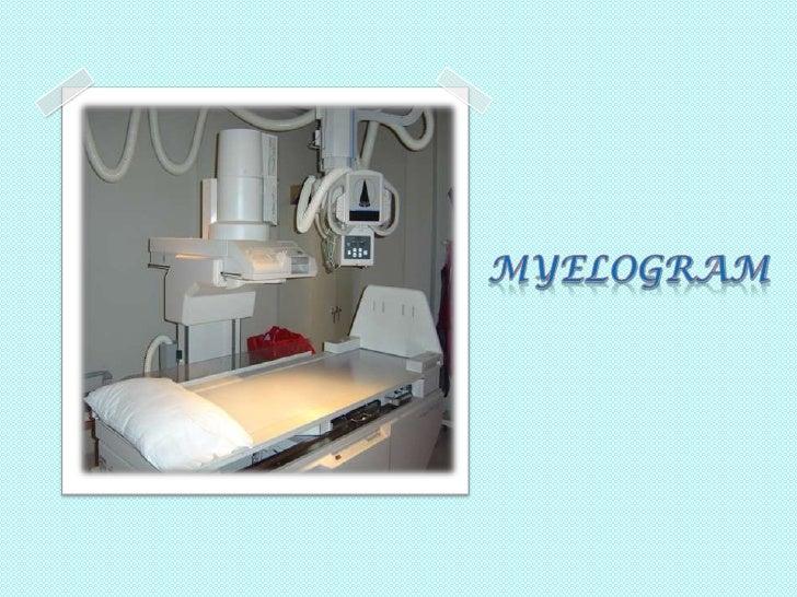 MYELOGRAM<br />