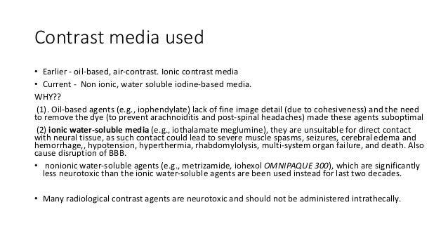 Myelogram Slide 2