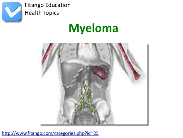 Fitango Education          Health Topics                             Myelomahttp://www.fitango.com/categories.php?id=25