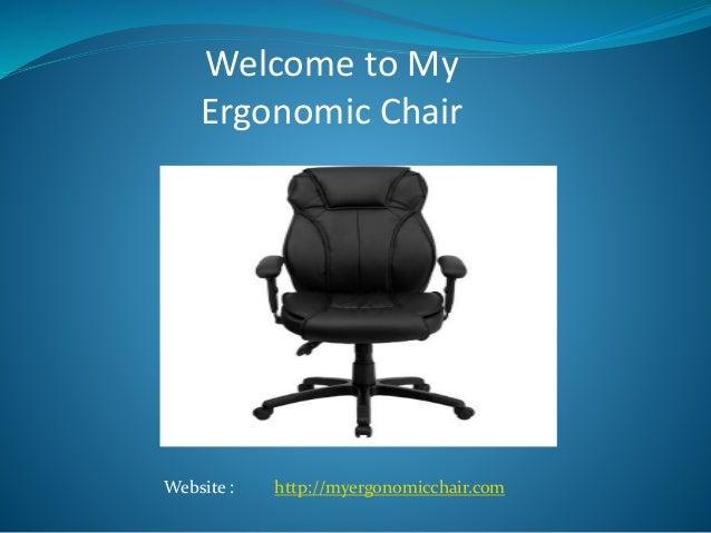 Office chair leg pain