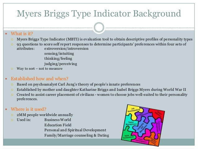 myers-briggs thesis scoring To the graduate council: i am submitting herewith a thesis written by laura ann krouse entitled the myers-briggs type indicator profiles of resident assistants.