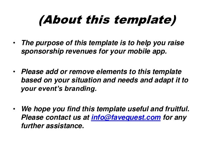 Application Proposal Template Vosvetenet – Event Proposal Format
