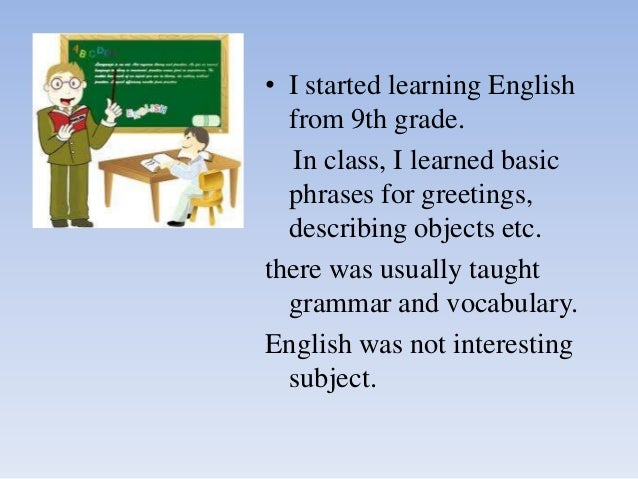 what i learned in english class