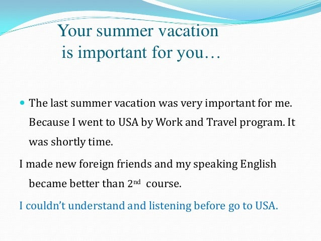 my experience in learning english My experience of the english for university course  i usually go to the learning centre from 8 to 10 hours per week  an international experience in english for .